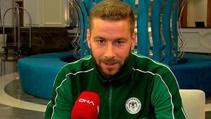 Konyasporlu Nejc Skubic: Bir arada kalma, savaşma ve bu durumu düzeltme zamanı
