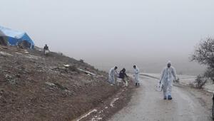 Elazığda 240 küçükbaş hayvan telef oldu, köy karantinaya alındı
