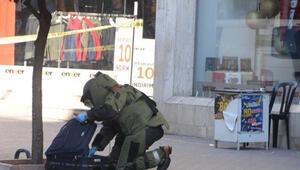 Mersin'de şüpheli bavul boş çıktı