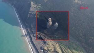 Zonguldakta kazı sırasında bulunan top mermileri patlatıldı