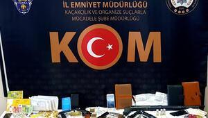 Zonguldakta tefeci operasyonu: 10 gözaltı