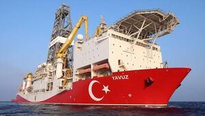 Sondaj gemisi Yavuz Mersin açıklarında