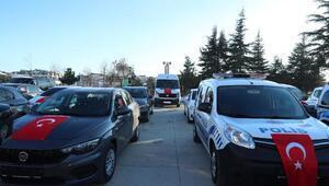 Eskişehir Emniyet Müdürlüğüne 36 yeni hizmet aracı