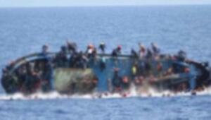 Son dakika... Göçmen teknesi battı 12 kişi öldü