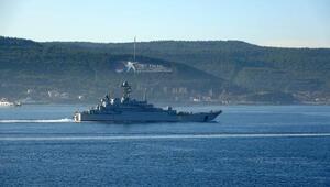 Rus savaş gemisi Azov, Çanakkale Boğazından geçti