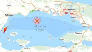 Son dakika haberi: İstanbulda 4,7lik deprem