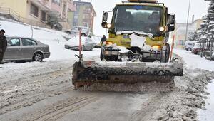 Kar mücadelesi canlı yayında
