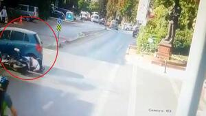 Beşiktaşta korkutan kaza