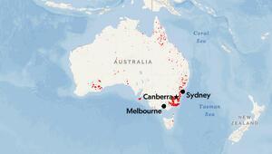 Son dakika haberler: Avustralyada yangından sonra büyük dikkat çeken sorun.. Su kaynakları büyük tehlikede