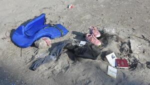 8i çocuk 11 göçmenin öldüğü faciaya 6 gözaltı Göçmenlerden geriye ayakkabılar ve kimlikler kaldı