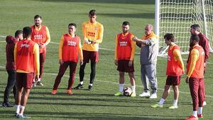 Galatasarayda Falcao ve Seri antrenmana katılmadı
