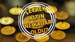 Altın fiyatları ne kadar oldu 13 Ocak çeyrek altın fiyatı