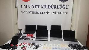Sancaktepe'deki işyerinden hırsızlık yapan şüpheliler yakalandı