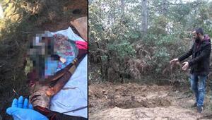 Arnavutköyde battaniyeye sarılı kadın cesedi bulundu