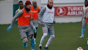 Trabzonsporda kupa maçı hazırlıkları başladı