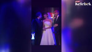 Sıla ve Hazer Amani'nin Nişantaşı'ndaki düğününden ilk görüntüler...