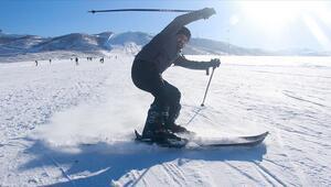 Ovacık Kayak Merkezi kayakseverlerin ilgi odağı oldu