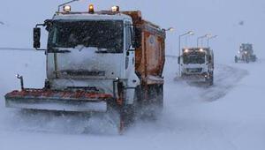 Erzurum ve Erzincanda 39 köy ve mahalle yolu ulaşıma kapalı