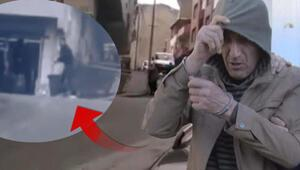 Sokak ortasında kadını sopayla döven kişi adliyeye sevkedildi
