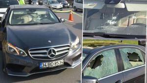 Tartıştıkları sürücüye kurşun yağdırdılar