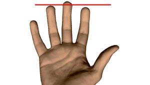 Yüzük parmağı daha uzun olan erkekler risk altında