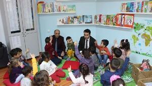 Yeşilyurtta çocuk kütüphanesi açıldı