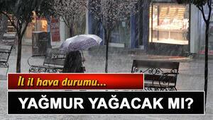 Yarın (15 Ocak) hava nasıl olacak, yağmur yağacak mı Türkiye geneli il il hava durumu