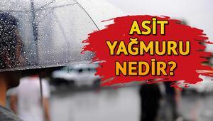 Asit yağmuru nedir ve ne demek Asit yağmuru insanlar üzerinde zararlı mı