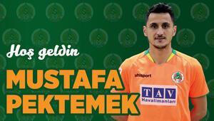 Son dakika transfer haberleri | Mustafa Pektemek resmen Alanyasporda