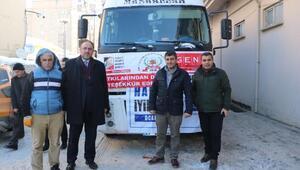 İstanbuldan Yüksekovaya iyilik TIRı