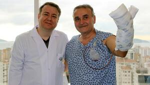 Almanya'da 'Kesilmeli' dediler, Türk doktorlar kurtardı