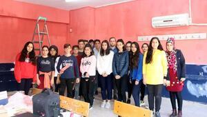 Lise öğrencilerinden örnek proje