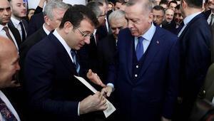Ekrem İmamoğlu, Cumhurbaşkanı Erdoğana 4 sayfalık mektup verdi