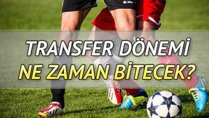 Süper Lig transfer dönemi ne zaman bitecek