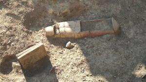 Tarsusta Roma dönemine ait torpido mezar bulundu
