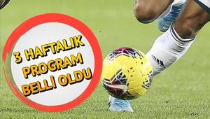 Süper Lig 2. yarı ne zaman başlayacak İşte 18. hafta maç programı ve fikstürü