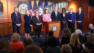 ABD Temsilciler Meclisi, Trumpın azil maddelerini Senatoya yolladı