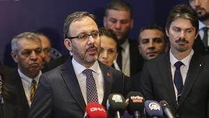 Bakan Kasapoğlu: Şehitlerimiz için kenetlendik