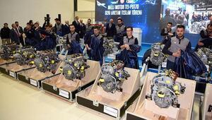 Türkiyenin milli havacılık motoru TEI-PD170in TUSAŞa teslimatı gerçekleştirildi