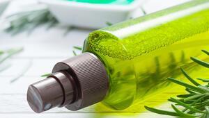 Ev Yapımı Yeşil Çaylı Saç Uzatma Spreyi