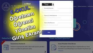 E Okul sayfası kapandı mı 2020 MEB E Okul giriş yapma ekranı