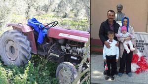 Freni boşalan traktörden atlayan sürücü, 28 gün sonra acı haber
