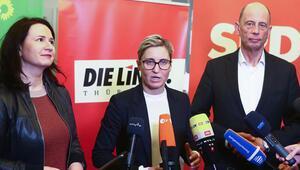 Thüringen'de üç partili azınlık hükümeti kuruluyor