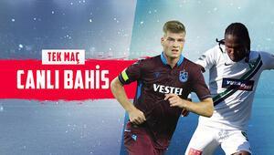 Trabzonspor, kupada Denizlisporu konuk ediyor Bu maçın değerli iddaa oranı...