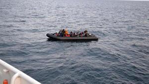 Enezde 31 kaçak göçmen yakalandı