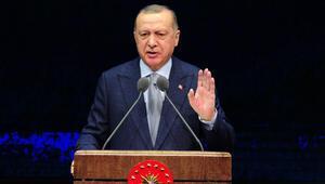 Cumhurbaşkanı Erdoğan: Tüm imkanlarımızıgüneyimizdeki coğrafyanın istikrarı için seferber etmeyi sürdüreceğiz