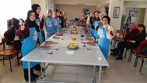 Sivasta gençler mutfak atölyesinde buluşuyor