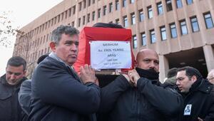 Ankara Adliyesi 'Erol Abi'sini  uğurladı