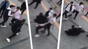 Sokak ortasında bir garip kavga Nedeni pes dedirtti...