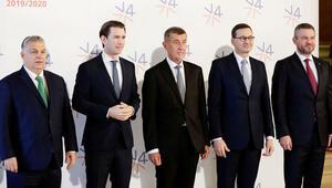 V4 liderleri Kurz ile Prag'da buluştu